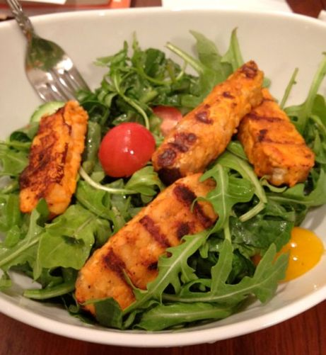 Buffalo Tempeh Salad