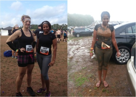Full Body Before & After Tough Mudder Photos