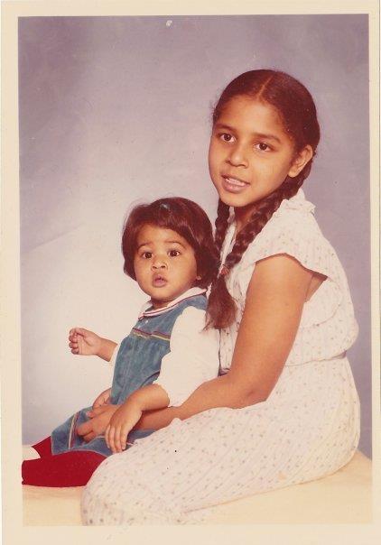 Me (baby) & My Sis