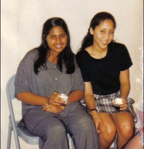 Me at 15 Years Old (left)